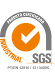 Certifies the ISO 9001 SGS systems